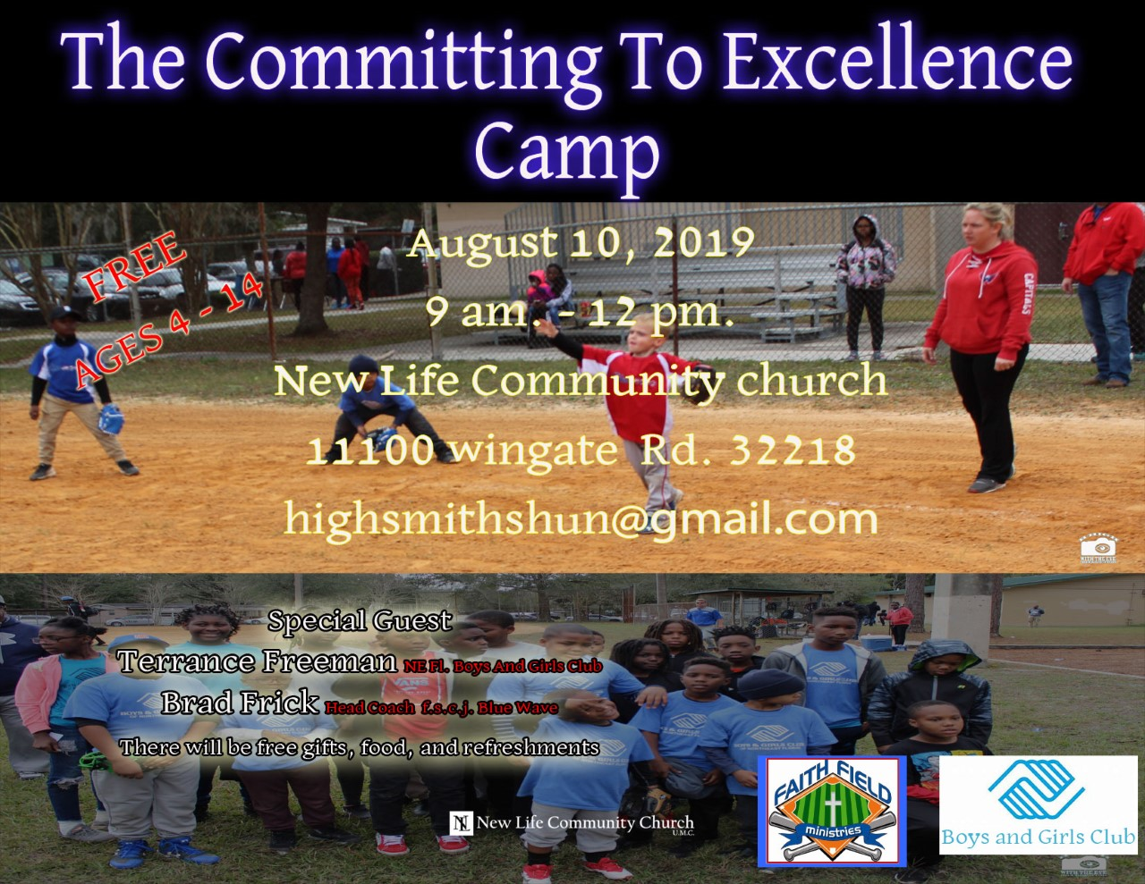The Committing to Excellence Camp