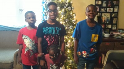 Eden and Jaden & Marcall Brown;Ambonisye Boatwright
